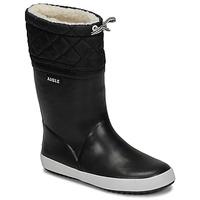 Čevlji  Otroci Škornji za sneg Aigle GIBOULEE Črna / Bela