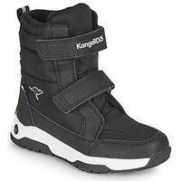 Čevlji  Otroci škornji za dež  Kangaroos K-MAJOR V RTX Črna