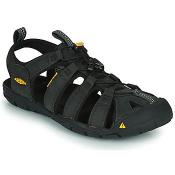 Čevlji  Moški Športni sandali Keen CLEARWATER Siva / Črna