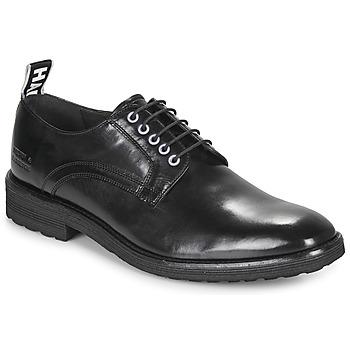 Čevlji  Moški Čevlji Derby Melvin & Hamilton EDDY Črna