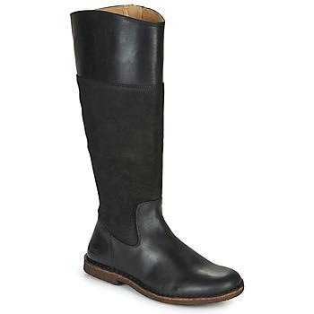 Čevlji  Ženske Mestni škornji    Kickers TAKIKO Črna