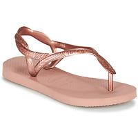 Čevlji  Deklice Japonke Havaianas LUNA MINI ME Rožnata