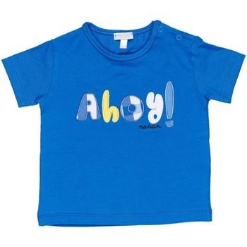 Oblačila Dečki Majice s kratkimi rokavi Nanan E20174 Avio