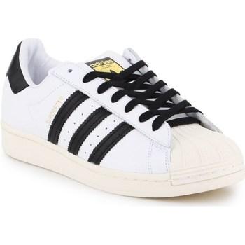 Čevlji  Moški Nizke superge adidas Originals Superstar Laceless Bela,Črna