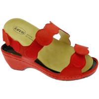 Čevlji  Ženske Sandali & Odprti čevlji Calzaturificio Loren LOE687ro rosso