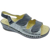 Čevlji  Ženske Sandali & Odprti čevlji Calzaturificio Loren LOM2817bl blu