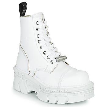 Čevlji  Polškornji New Rock M-MILI083CM-C56 Bela