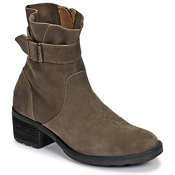 Čevlji  Ženske Gležnjarji Palladium Manufacture MARGO 04 SUD Kaki