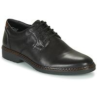 Čevlji  Moški Čevlji Derby Rieker 16541-02 Črna