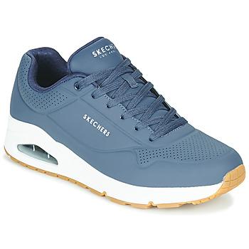 Čevlji  Moški Nizke superge Skechers UNO STAND ON AIR Modra