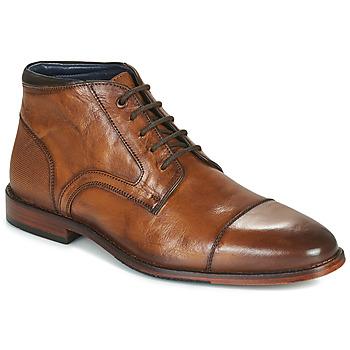 Čevlji  Moški Polškornji Azzaro TELLIS Cognac