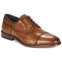 Čevlji  Moški Čevlji Derby Azzaro TILLEUL Cognac