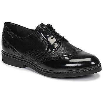 Čevlji  Ženske Čevlji Derby Tamaris KELA Črna