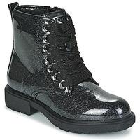 Čevlji  Deklice Polškornji Gioseppo XANTEN Črna