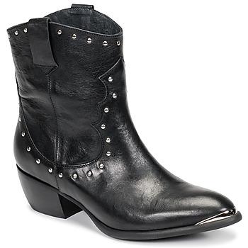 Čevlji  Ženske Mestni škornji    Ikks BOTTES Črna