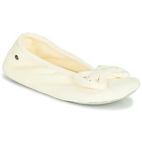 Čevlji  Ženske Nogavice Isotoner 95991 Slono-koščena