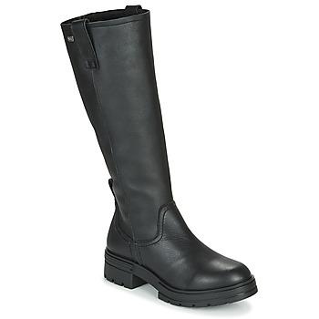 Čevlji  Ženske Mestni škornji    Musse & Cloud GEORGETE Črna