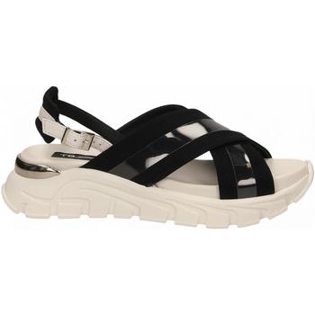Čevlji  Ženske Sandali & Odprti čevlji Tosca Blu PONZA c88-bianco-nero