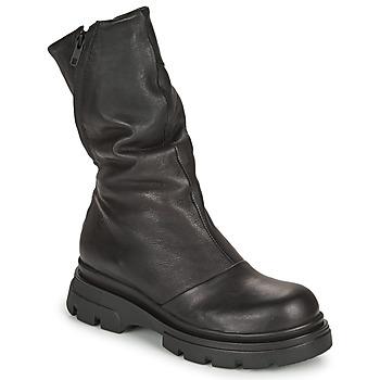 Čevlji  Ženske Mestni škornji    Papucei LUZ Črna