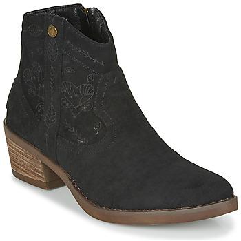 Čevlji  Ženske Gležnjarji Refresh 72472 Črna