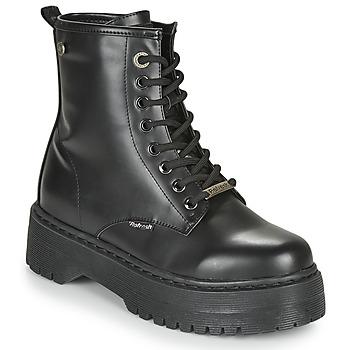 Čevlji  Ženske Polškornji Refresh 72541 Črna