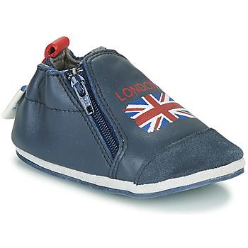 Čevlji  Otroci Nogavice Robeez LONDON FLAG Modra