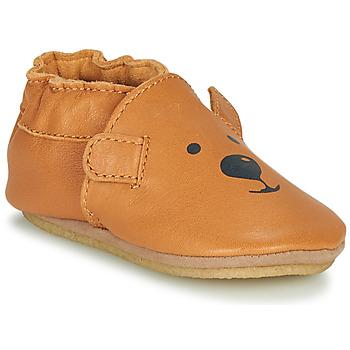 Čevlji  Otroci Nogavice Robeez SWEETY BEAR CRP Kamel