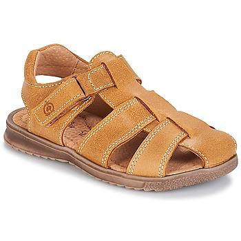 Čevlji  Dečki Sandali & Odprti čevlji Citrouille et Compagnie MELTOUNE Kamel