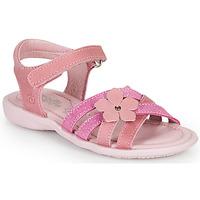 Čevlji  Deklice Sandali & Odprti čevlji Citrouille et Compagnie HERTUNE Fuksija