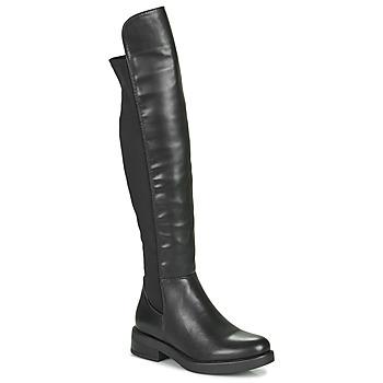 Čevlji  Ženske Mestni škornji    Xti 44395 Črna