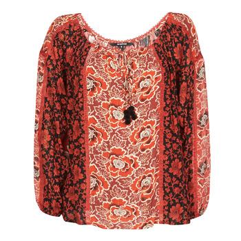 Oblačila Ženske Topi & Bluze Desigual ROSAL Rdeča
