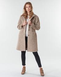 Oblačila Ženske Plašči Cream AMELIA COAT Bež