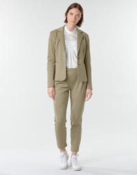 Oblačila Ženske Hlače s 5 žepi Cream ANETT PANT Bež