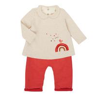 Oblačila Deklice Otroški kompleti Catimini CR36031-60 Rožnata