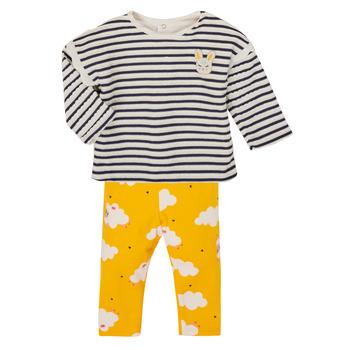 Oblačila Deklice Otroški kompleti Catimini CR36041-71 Večbarvna