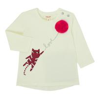Oblačila Deklice Majice z dolgimi rokavi Catimini CR10063-11 Rožnata