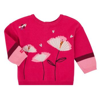 Oblačila Deklice Telovniki & Jope Catimini CR18033-35 Rožnata