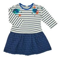 Oblačila Deklice Kratke obleke Catimini CR30133-12 Večbarvna
