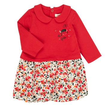 Oblačila Deklice Kratke obleke Catimini CR30043-38 Večbarvna