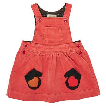 Oblačila Deklice Kratke obleke Catimini CR31003-67 Rdeča