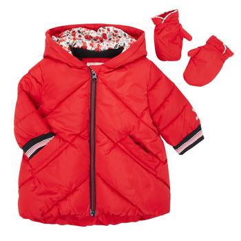 Oblačila Deklice Puhovke Catimini CR42013-38 Rdeča