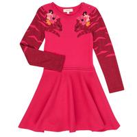 Oblačila Deklice Kratke obleke Catimini CR30085-35 Rožnata