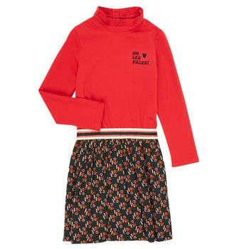 Oblačila Deklice Kratke obleke Catimini CR30035-38-C Večbarvna