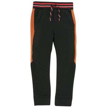 Oblačila Dečki Spodnji deli trenirke  Catimini CR23004-02-C Črna