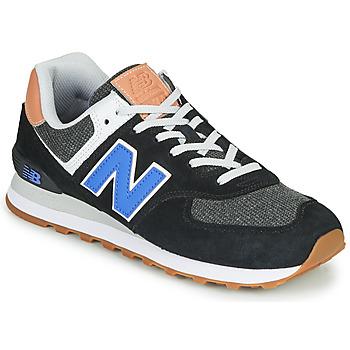 Čevlji  Moški Nizke superge New Balance 574 Črna / Modra
