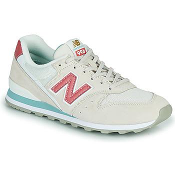 Čevlji  Ženske Nizke superge New Balance 996 Bež / Rožnata