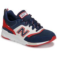 Čevlji  Dečki Nizke superge New Balance 997 Modra / Bela / Rdeča