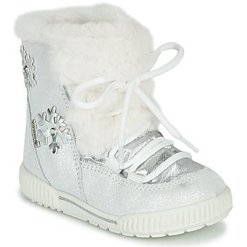 Čevlji  Deklice Škornji za sneg Primigi RIDE 19 GTX Srebrna