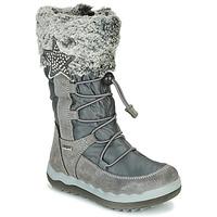 Čevlji  Deklice Škornji za sneg Primigi FROZEN GTX Siva