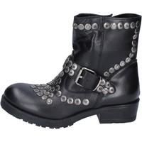 Čevlji  Ženske Gležnjarji Brawn's Gležnarji BM192 Črna